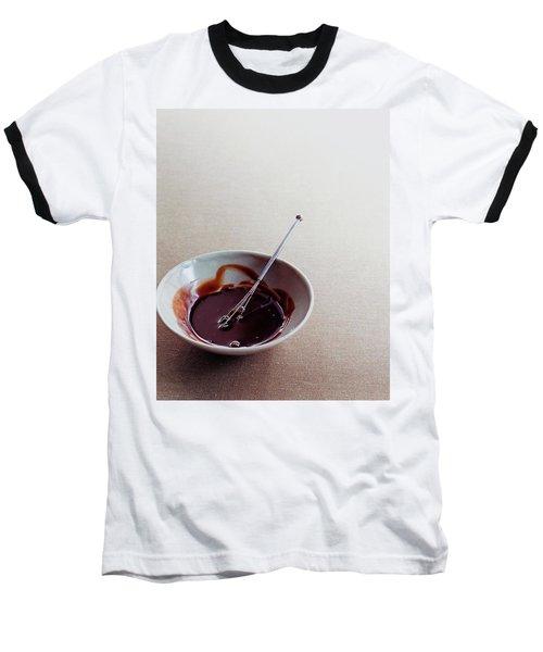 Mocha Caramel Sauce Baseball T-Shirt