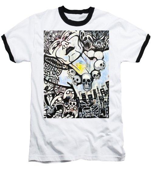 Modern Bride Baseball T-Shirt by Yelena Tylkina