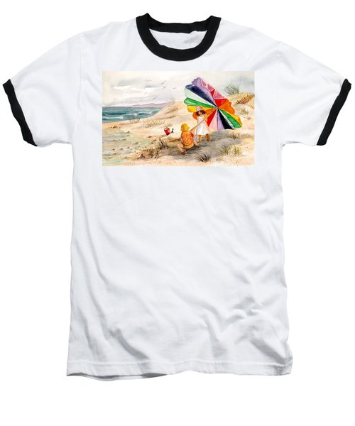 Moments To Remember Baseball T-Shirt by Marilyn Smith