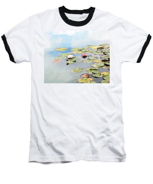 Baseball T-Shirt featuring the photograph Monet's Garden by Brooke T Ryan