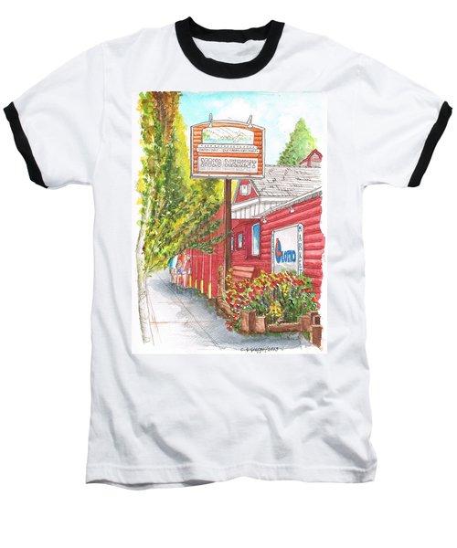 Mono Market Near Mono Lake In Lee Vining-california Baseball T-Shirt