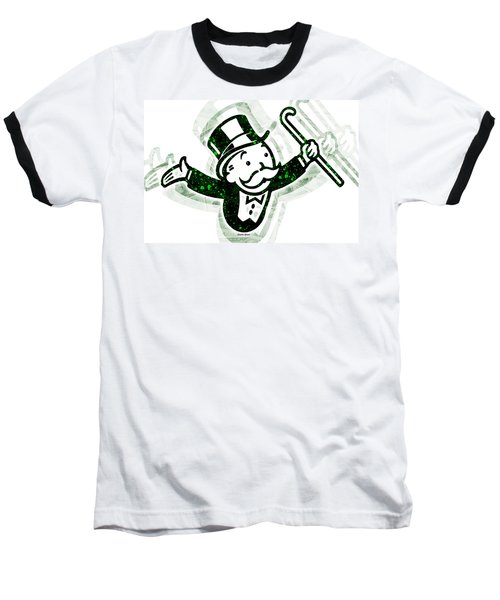 Monopoly Man Baseball T-Shirt