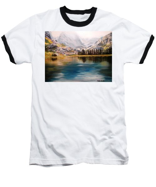 Montana Reflections Baseball T-Shirt by Patti Gordon