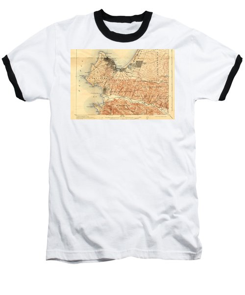 Monterey And Carmel Valley  Monterey Peninsula California  1912 Baseball T-Shirt