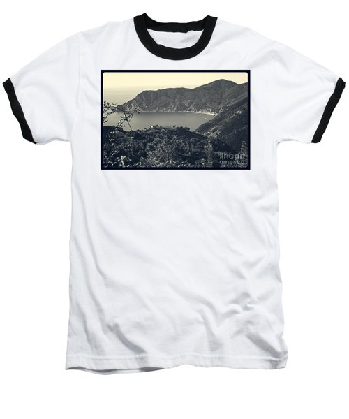 Monterosso Al Mare From Above Baseball T-Shirt