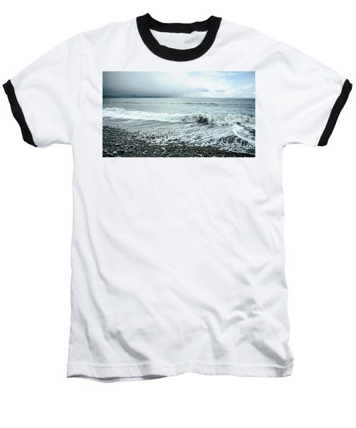 Moody Shoreline French Beach Baseball T-Shirt