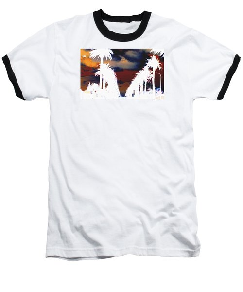 Baseball T-Shirt featuring the photograph Moody Blues by Linda Hollis