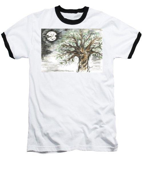 Moon Whisper  Baseball T-Shirt