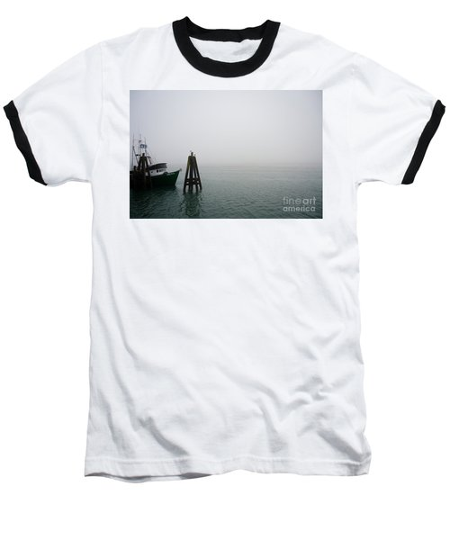 Baseball T-Shirt featuring the photograph Moored by CML Brown