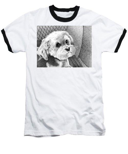 Morkie Baseball T-Shirt