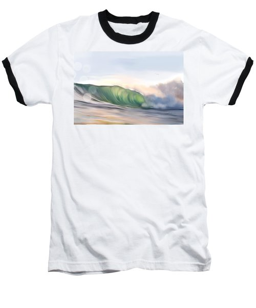 Baseball T-Shirt featuring the painting Morning Break by Dawn Harrell