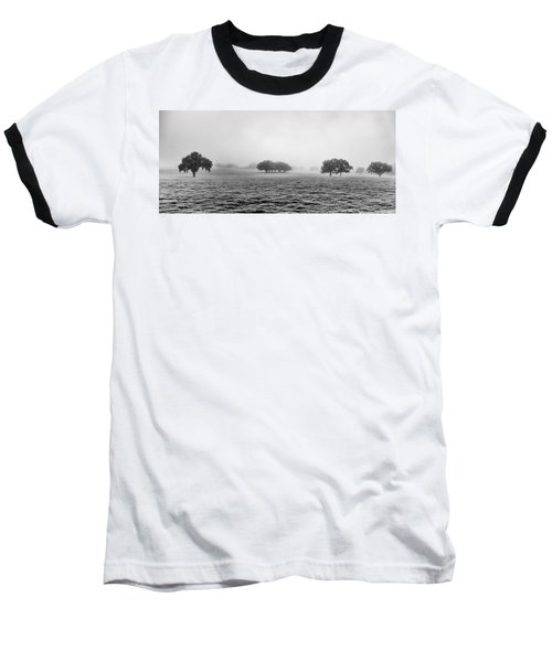 Baseball T-Shirt featuring the photograph Morning Fog by Howard Salmon