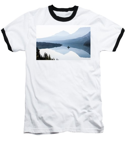 Baseball T-Shirt featuring the photograph Morning Mist by Aaron Aldrich