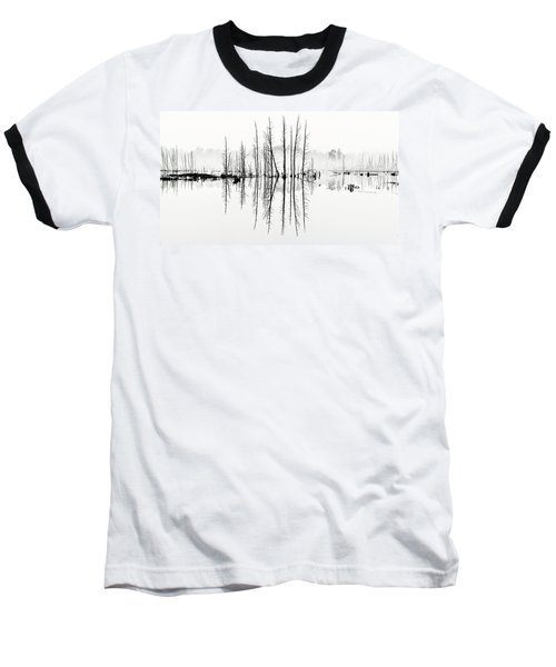 Morning Mystery Pine Lands Baseball T-Shirt