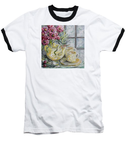 Morning Tea For Two Baseball T-Shirt