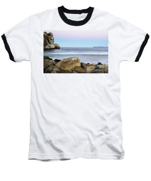 Morro Rock Morning Baseball T-Shirt