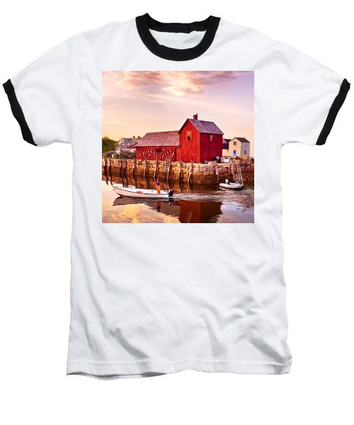 Motif Number One Rockport Massachusetts  Baseball T-Shirt