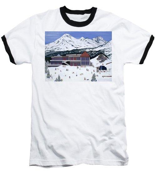 Mount Bachelor Baseball T-Shirt