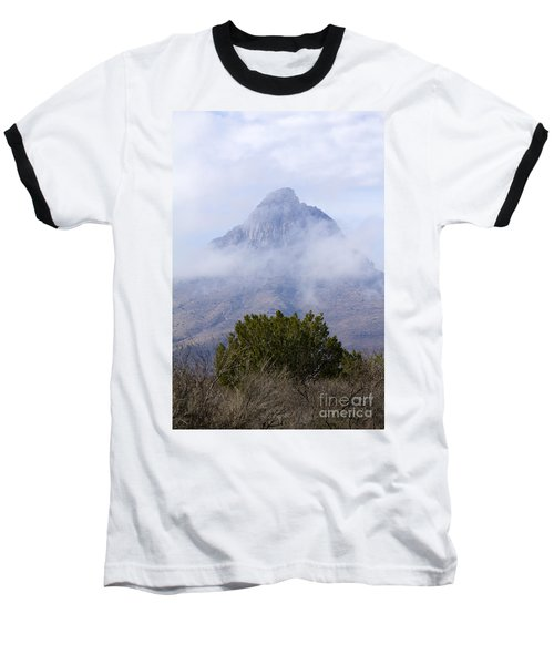 Mountain Cloaked Baseball T-Shirt