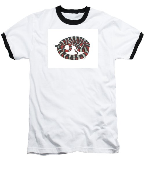 Mountain King Snake Baseball T-Shirt