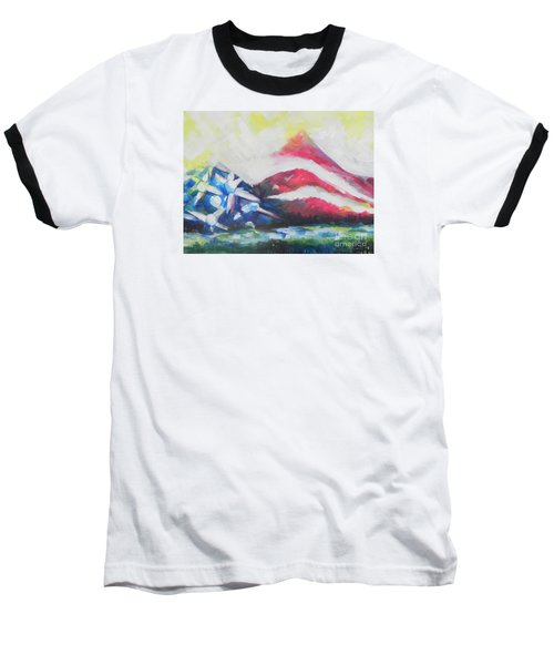 Mountains Of Freedom Two Baseball T-Shirt