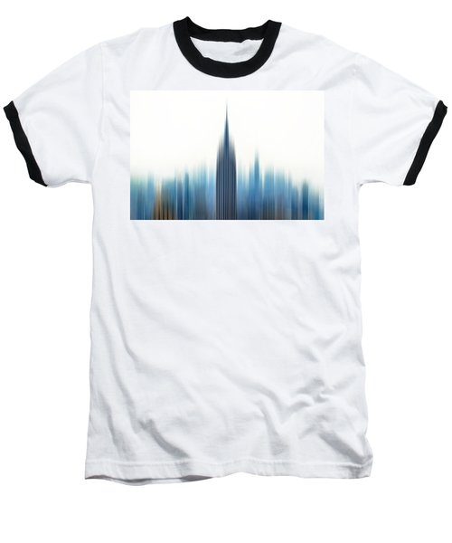 Moving An Empire Baseball T-Shirt by Az Jackson