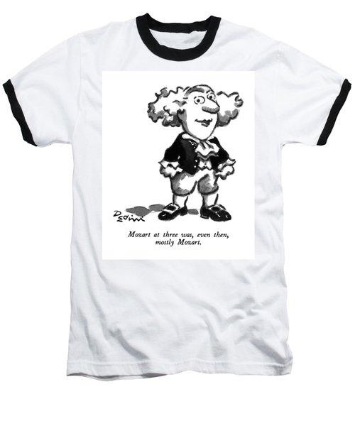 Mozart At Three Baseball T-Shirt