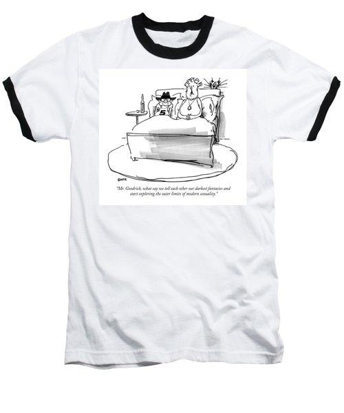 Mr. Goodrich Baseball T-Shirt