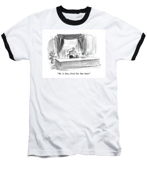 Mr. S. Claus Baseball T-Shirt