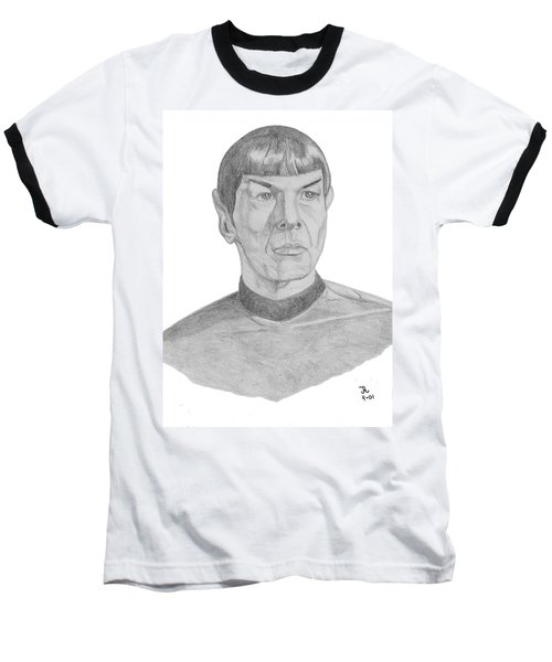 Mr. Spock Baseball T-Shirt