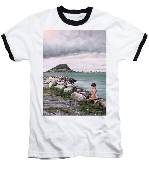 Mt Maunganui 140408 Baseball T-Shirt