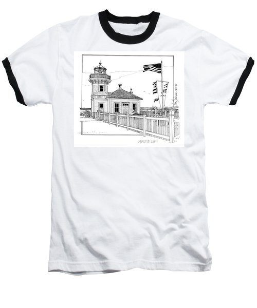 Mukilteo Light Baseball T-Shirt