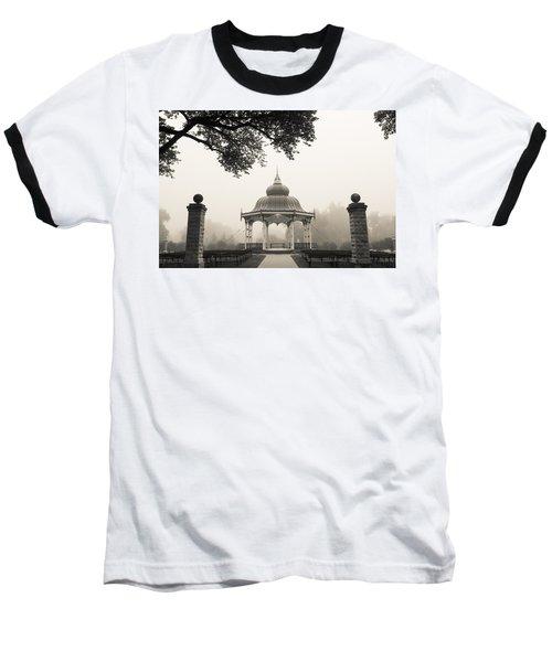 Music Stand In Fog Baseball T-Shirt