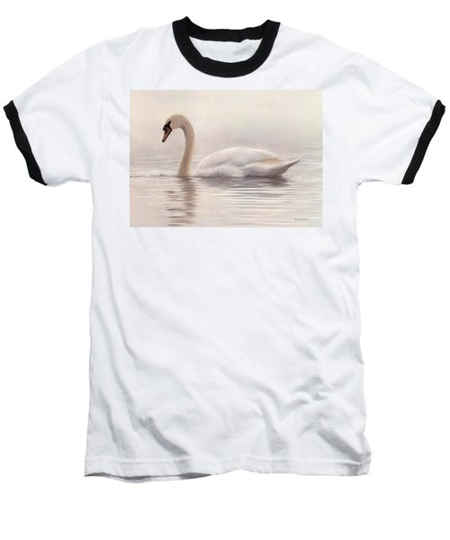 Mute Swan Painting Baseball T-Shirt