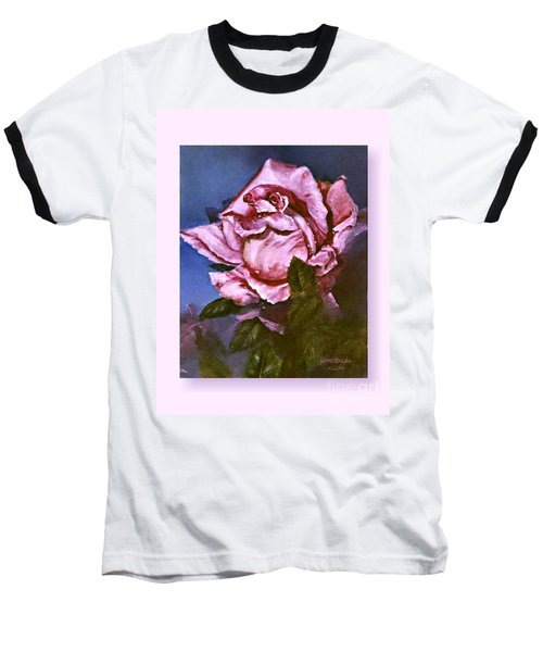 My First Rose Baseball T-Shirt