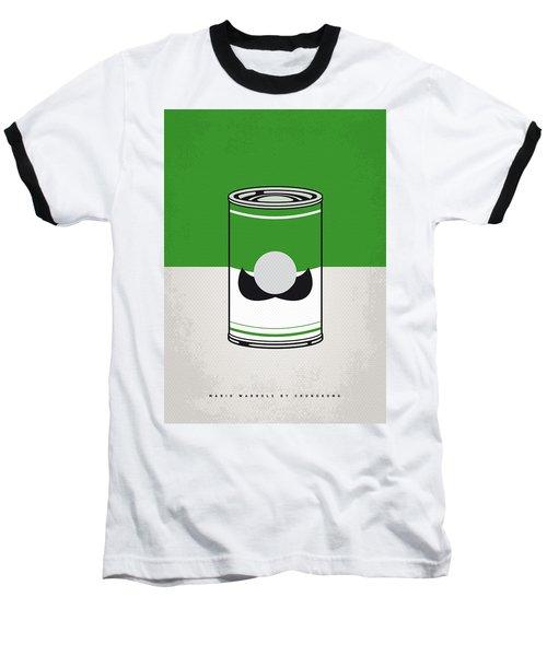 My Mario Warhols Minimal Can Poster-luigi Baseball T-Shirt