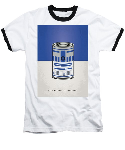 My Star Warhols R2d2 Minimal Can Poster Baseball T-Shirt