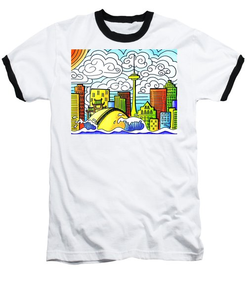 My Toronto Baseball T-Shirt by Oiyee At Oystudio