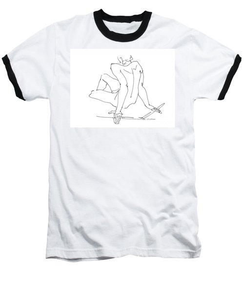 Naked-men-art-15 Baseball T-Shirt