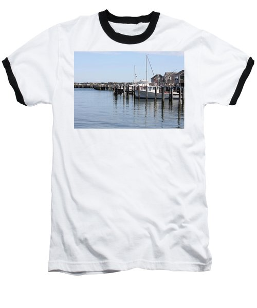 Nantucket Harbor Baseball T-Shirt