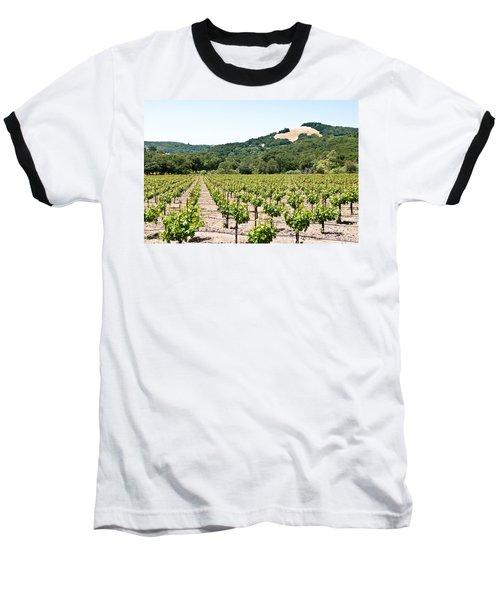 Napa Vineyard With Hills Baseball T-Shirt