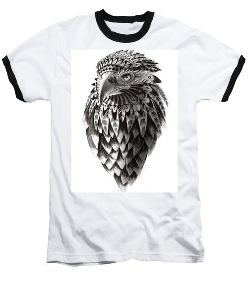 Native American Shaman Eagle Baseball T-Shirt