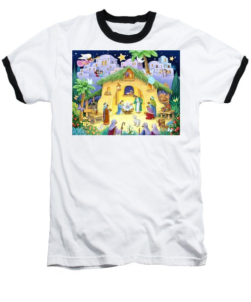 Nativity For Children Baseball T-Shirt