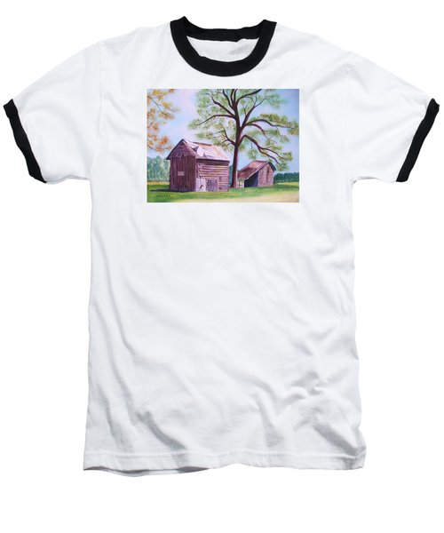 Nc Tobacco Barns Baseball T-Shirt