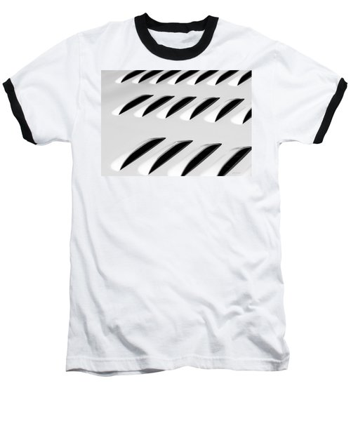 Need To Vent - Abstract Baseball T-Shirt by Steven Milner