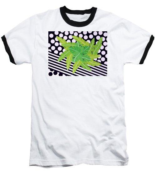 Negative Green Baseball T-Shirt