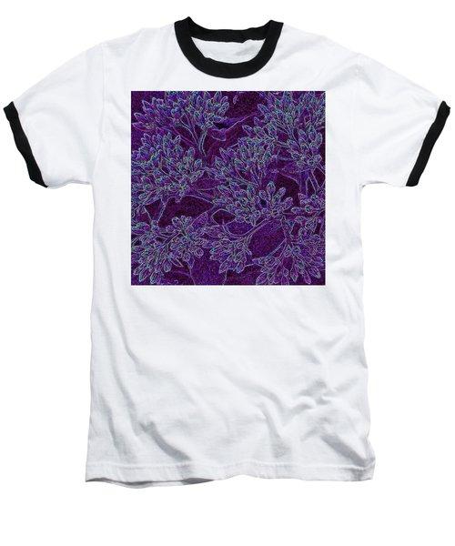 Neon Blossoms Baseball T-Shirt