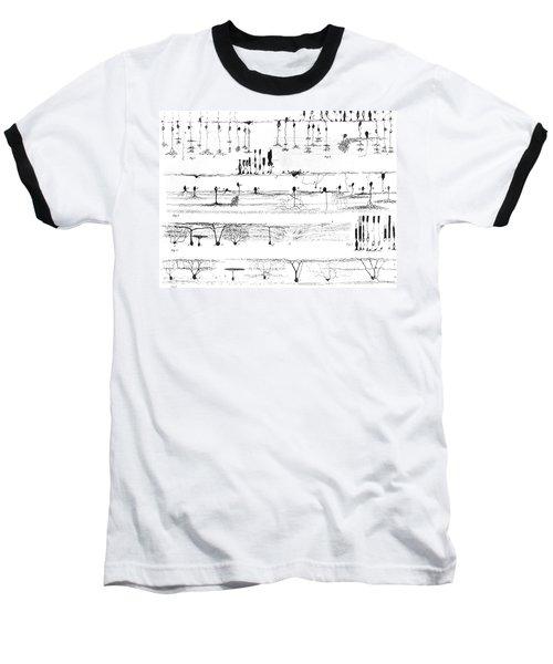 Nerve Structure Of The Retina Baseball T-Shirt