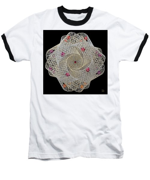 Baseball T-Shirt featuring the digital art Netted by Manny Lorenzo