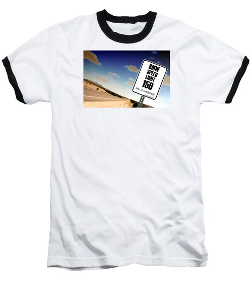 Baseball T-Shirt featuring the photograph New Limits  by David Jackson